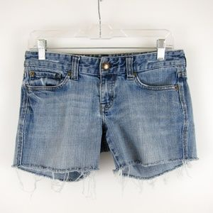 Express Cutoff Jean Shorts
